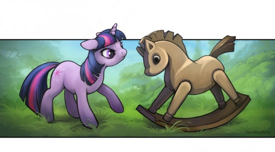 Wooden Pony by sans-art
