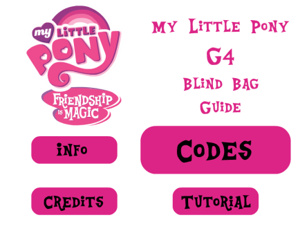 My Little Pony G4 Blind Bag Guide