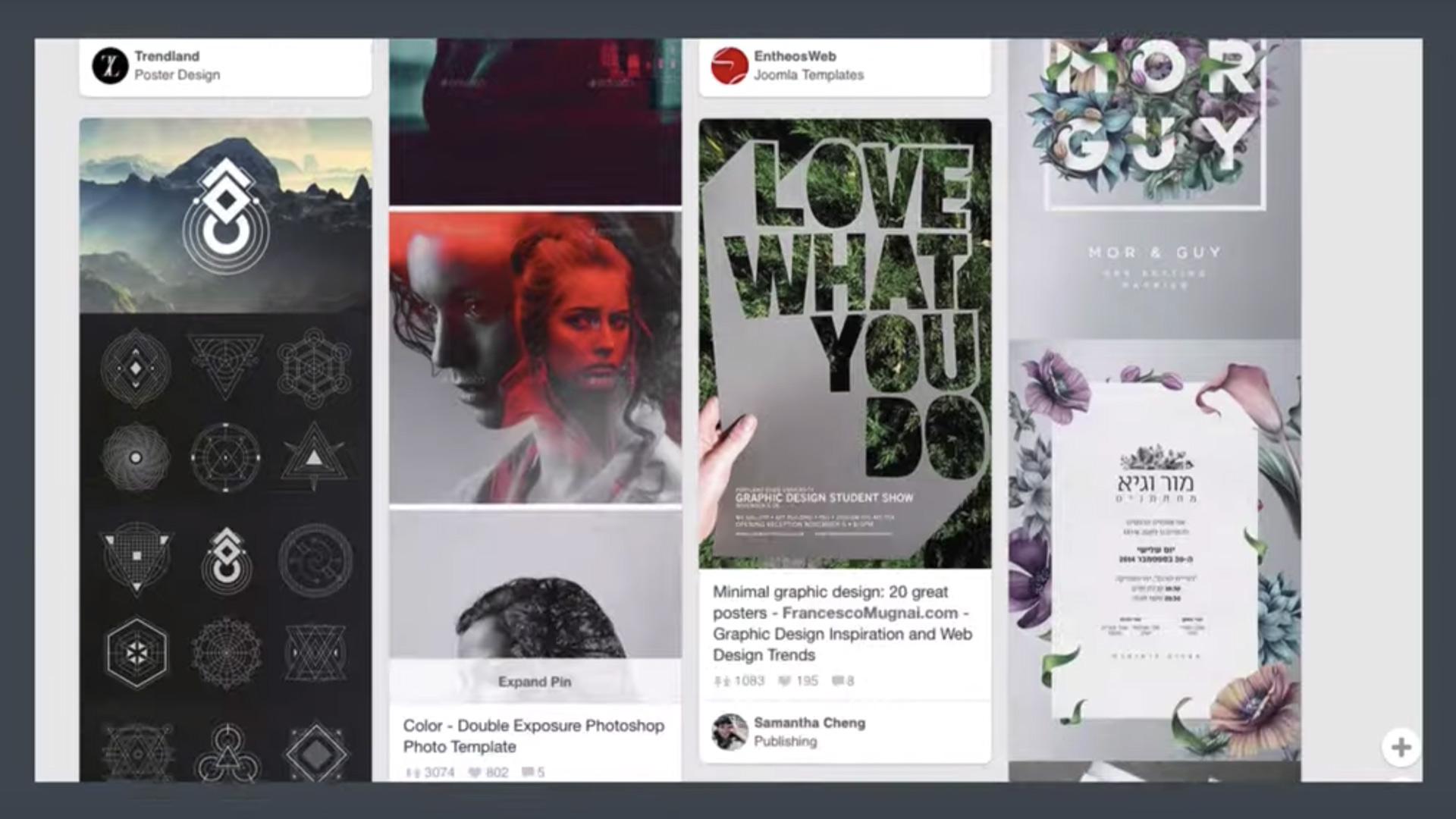 sample video learn about graphic design by designing a poster in photoshop