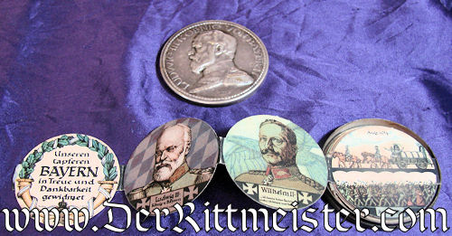 BAVARIA - BOX THALER - Imperial German Military Antiques Sale
