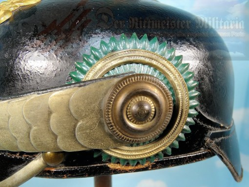 SAXE-WEIMAR - PICKELHAUBE - OFFICER - INFANTERIE-REGIMENT Nr 94 - Imperial German Military Antiques Sale