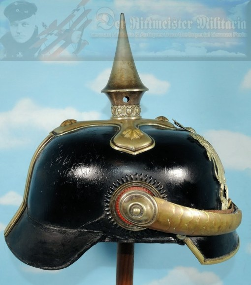 WÜRTTEMBERG - PICKELHAUBE - OFFICER - DRAGONER-REGIMENT Nr 25 - Imperial German Military Antiques Sale