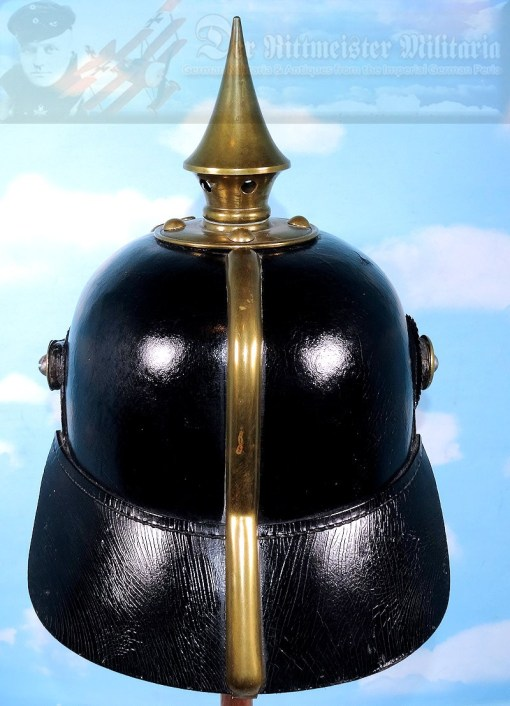 PRUSSIA - PICKELHAUBE - ENLISTED MAN/NCO - LANDWEHR-INFANTERIE-REGIMENT Nr 25 M-1871 - Imperial German Military Antiques Sale