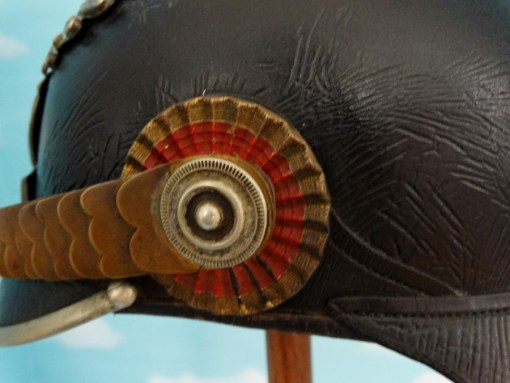 Baden - Pickelhaube - Officer - Pionier-Bataillon  NR 14 - Imperial German Military Antiques Sale