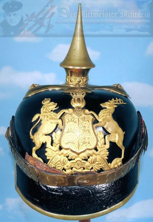 WÜRTTEMBERG - PICKELHAUBE - OFFICER - INFANTERIE LINE-REGIMENT - Imperial German Military Antiques Sale