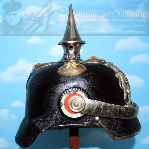 WÜRTTEMBERG  - PICKELHAUBE - ARMY - ZAHLMEISTER - Imperial German Military Antiques Sale