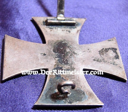 OFFICER'S DOCUMENT - DECORATION - PHOTOGRAPH - 1914 IRON CROSS 1st CLASS - Imperial German Military Antiques Sale