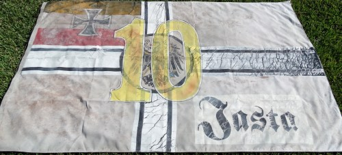 FLAG FROM 2008 MOVIE THE RED BARON - Imperial German Military Antiques Sale