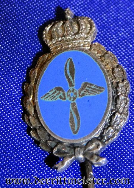 FLIEGERTRUPPEN STICKPIN - BAVARIA - Imperial German Military Antiques Sale