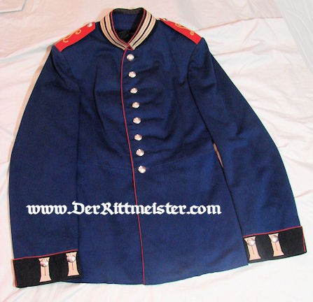 PRUSSIA - TUNIC - ENLISTED MAN - LUFTSCHIFFER-ABTEILUNG - Imperial German Military Antiques Sale