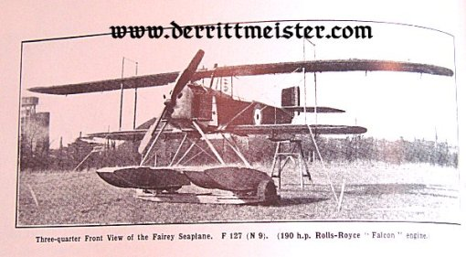GERMANY - BOOK - JANE'S FIGHTING AIRCRAFT OF WW I by JOHN W.R. TAYLOR - Imperial German Military Antiques Sale