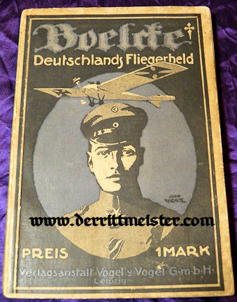 BOELCKE - DEUTSCHLAND'S FLIEGERHELD - Imperial German Military Antiques Sale