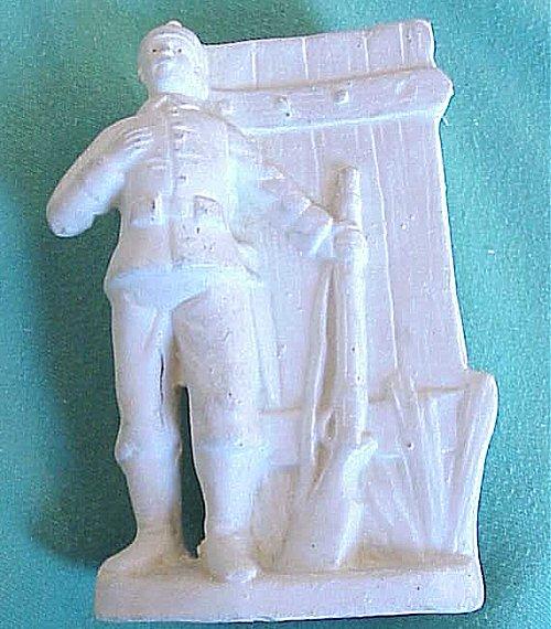 GERMANY - VASE - SOLDIER - Imperial German Military Antiques Sale