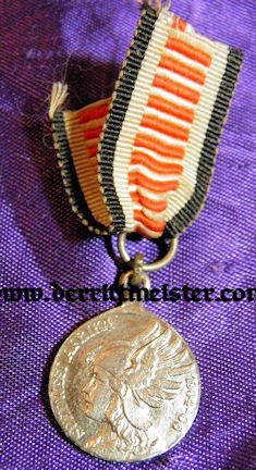 NON COMBATANTS MEDAL -MINIATURE - SOUTHWEST AFRICA - Imperial German Military Antiques Sale