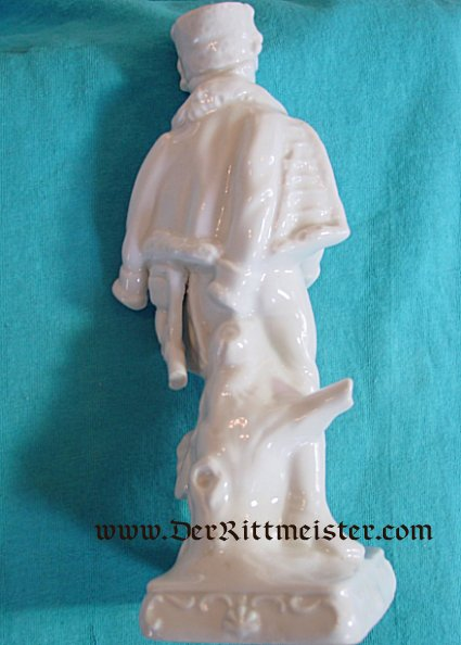 PRUSSIA - FIGURINE - HUSSAR - PORCELAIN - Imperial German Military Antiques Sale