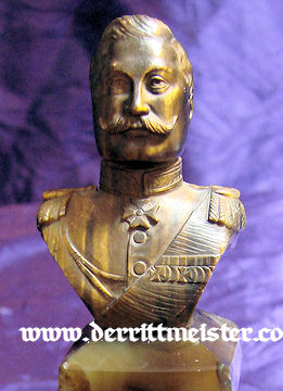 PRUSSIA - BUST - KAISER WILHELM II - Imperial German Military Antiques Sale