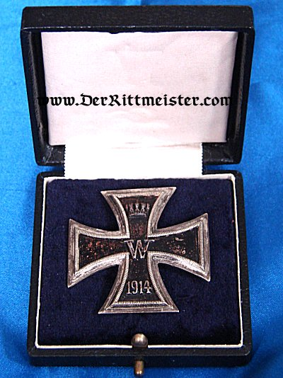 IRON CROSS - 1914 - 1st CLASS - VAULTED - ORIGINAL PRESENTATION CASE