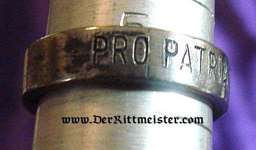 PRO PATRIA PATRIOTIC RING