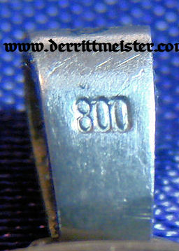 PATRIOTIC PENDANT - SILVER COIN - Imperial German Military Antiques Sale