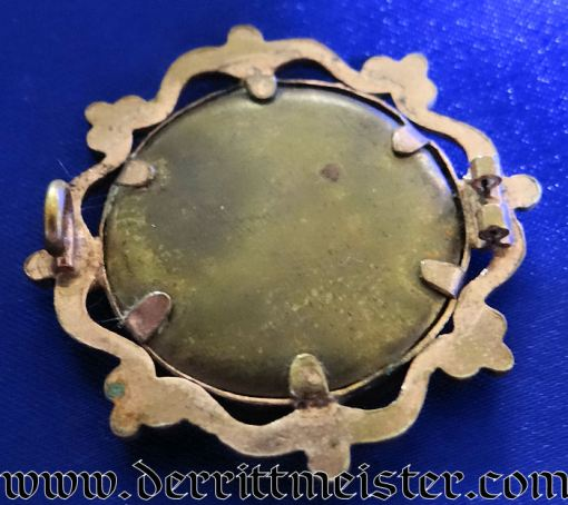 PATRIOTIC PHOTO PIN - SAILOR - Imperial German Military Antiques Sale