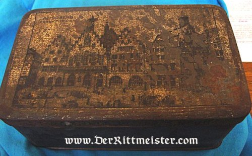 GERMANY - BOX - ZEPPELIN - TIN - Imperial German Military Antiques Sale