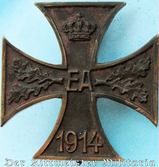 PRINZENGROßE 1914 KRIEGSVERDIENSTKREUZ 1st CLASS - BRAUNSCHWEIG - Imperial German Military Antiques Sale