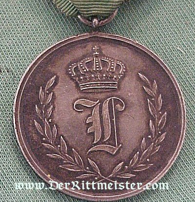 50-YEAR TRUE SERVICE MEDAL IN SILVER - ANHALT - Imperial German Military Antiques Sale