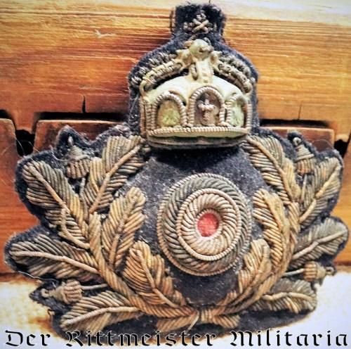 IMPERIAL GERMAN NAVY OFFICER'S CAP BADGE - Imperial German Military Antiques Sale