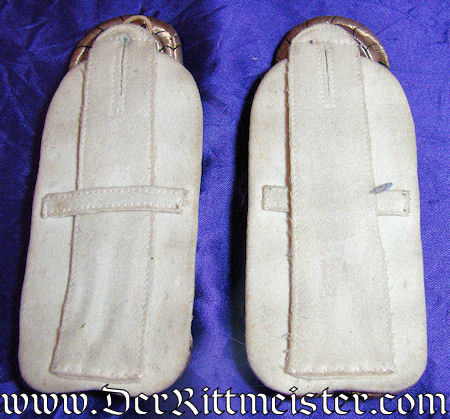 PRUSSIA - SHOULDER BOARDS - OBERSTLEUTNANT - FUßARTILLERIE-REGIMENT Nr 1 - Imperial German Military Antiques Sale