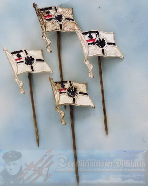 KRIEGSFLAGGE STICKPINS - Imperial German Military Antiques Sale