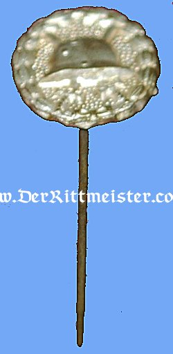 STICKPIN FOR THE ARMY SILVER WOULD BADGE - Imperial German Military Antiques Sale