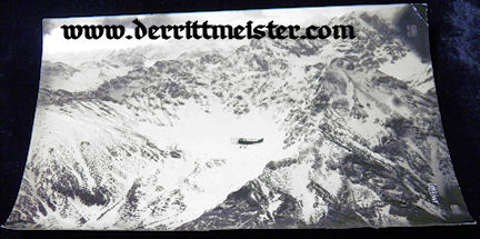 LARGE-FORMAT ORIGINAL PHOTOGRAPH - OBSERVATION AIRPLANE - ALOFT - Imperial German Military Antiques Sale