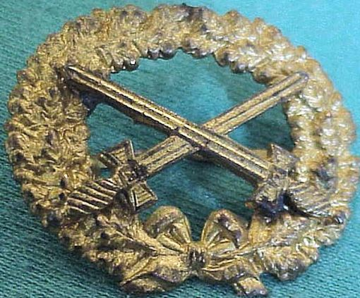 GERMANY - PIN  - FOR A CAP - Imperial German Military Antiques Sale