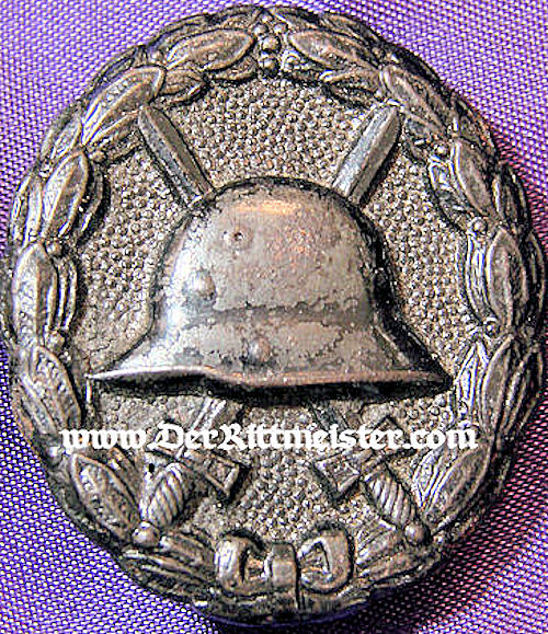 GERMANY - ARMY WOUND BADGE - BLACK - Der Rittmeister Militaria LLC
