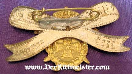 GERMANY - PIN - VETERAN'S ASSOCIATION - Imperial German Military Antiques Sale