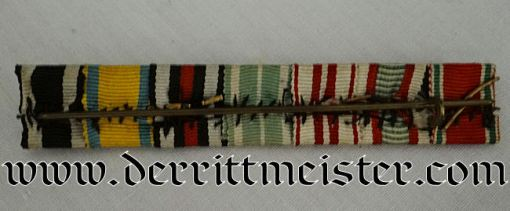 RIBBON BAR - SEVEN PLACE - Imperial German Military Antiques Sale