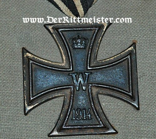 GERMANY - PATRIOTIC BOX - Featuring an authentic 1914 Iron Cross 2nd Class - Imperial German Military Antiques Sale