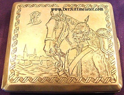 CIGARETTE CASE - FRANCO-PRUSSIAN WAR ERA - Imperial German Military Antiques Sale