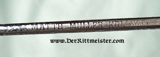 SAXONY - SWORD - NCO - GARDE-REITER-REGIMENT - Imperial German Military Antiques Sale