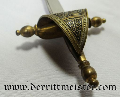 MINIATURE SWORD DESK PIECE (NON IMPERIAL GERMAN) - Imperial German Military Antiques Sale
