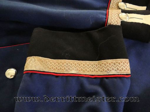 PRUSSIA - TUNIC - UNTEROFFIZIER - GARDE PIONIER BATAILLON - Imperial German Military Antiques Sale
