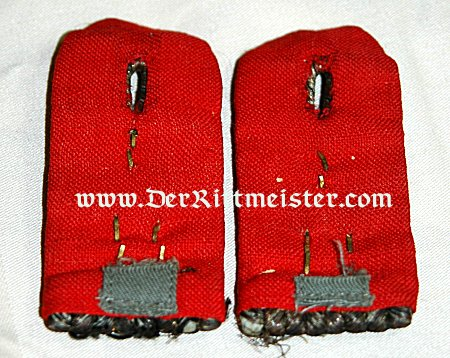 PRUSSIA - SHOULDER BOARDS - LEUTNANT - ARTILLERIE-REGIMENT Nr 51 - Imperial German Military Antiques Sale