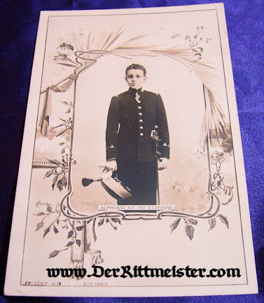POSTCARD - KING ALPHONSE XIII - SPAIN - Imperial German Military Antiques Sale