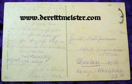 COLOR POSTCARD - 60th ANNIVERSARY - KAISER FRANZ-JOSEF - AUSTRIA - Imperial German Military Antiques Sale