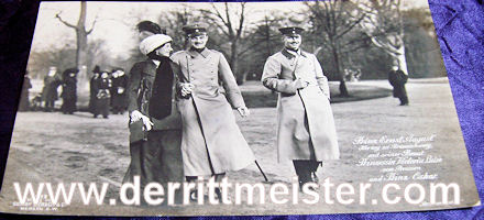 POSTCARD - HERZOG ERNST AUGUST - BRAUNSCHWEIG - PRINZESSIN VIKTORIA LUISE - PRINZ OSKAR - PRUSSIA - Imperial German Military Antiques Sale