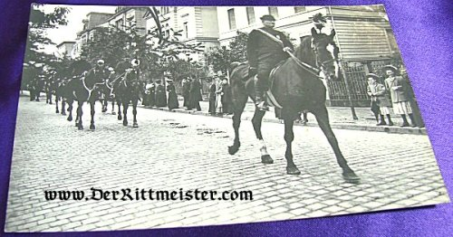 POSTCARD - FUNERAL PROCESSION - GRAND DUCHESS CAROLINE - SAXE-WEIMAR - Imperial German Military Antiques Sale