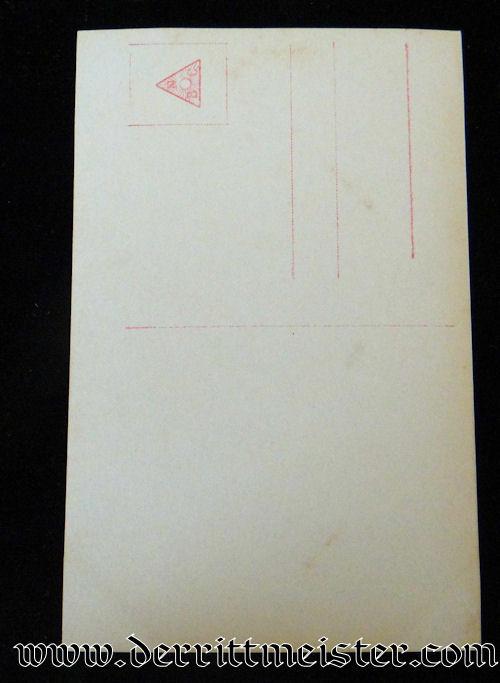 SANKE CARD Nr 390 OF PLM WINNER LEUTNANT HARTMUT BALDAMUS - Imperial German Military Antiques Sale