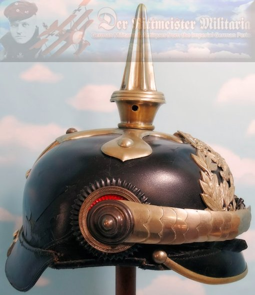 HESSE-DARMSTADT - PICKELHAUBE - OFFICER - DRAGONER-REGIMENT - Imperial German Military Antiques Sale