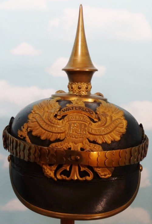 PRUSSIA - PICKELHAUBE - OFFICER - INFANTERIE-REGIMENT NR 74, NR 77, NR 78, NR 164, OR NR 165 - Imperial German Military Antiques Sale