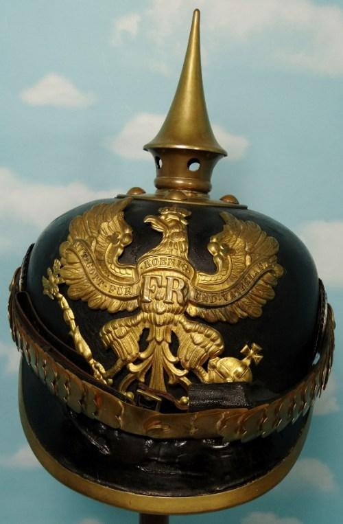 PRUSSIA - PICKELHAUBE  - NCO - INFANTERIE REGIMENT - Imperial German Military Antiques Sale